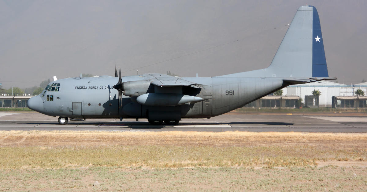 Military plane disappears with 38 people on board in Chile