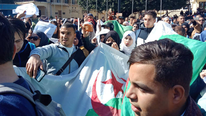 Algeria protests against Bouteflika continue despite talks
