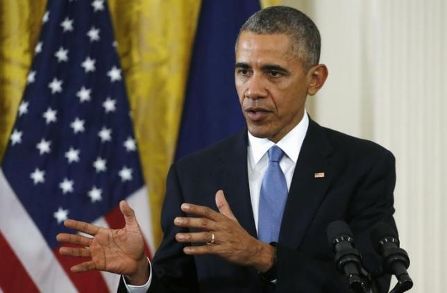 Obama meets with security adivisers on IS threat