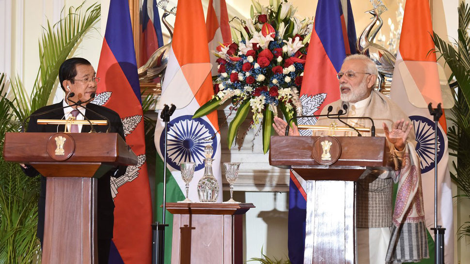 India and Cambodia ink four pacts, PM Modi says ready to further strengthen ties