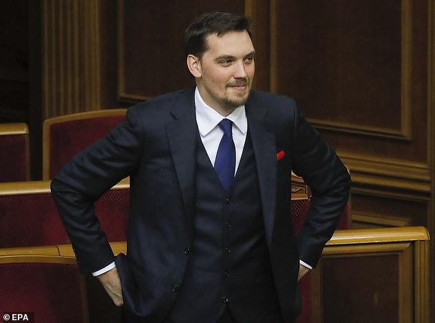 Ukrainian PM Oleksiy Honcharuk submits his resignation to President