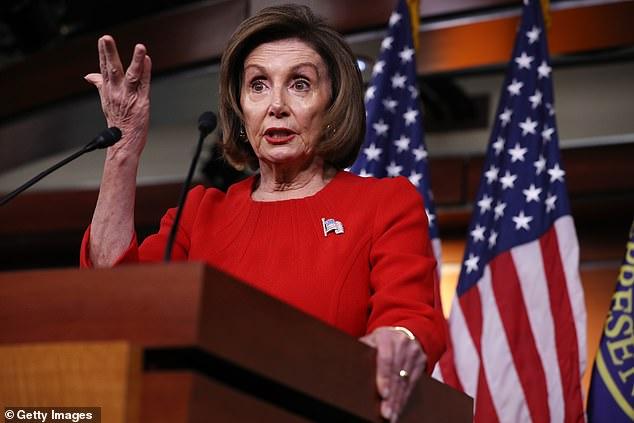 Nancy Pelosi says Trump sought to