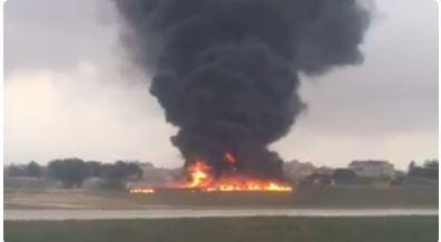 Crash at Malta Airport Kills Five, Covers Runway in Large Fireball