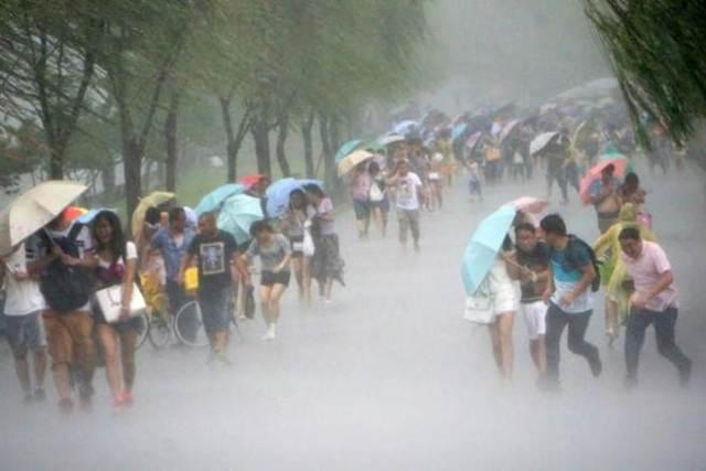 Typhoon Hato hits China; flights cancelled