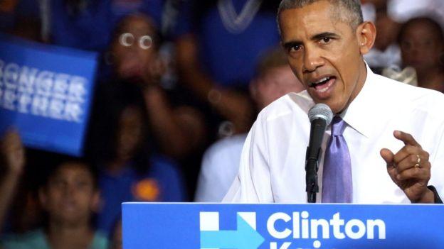 US presidential polls: Obama calls Trump