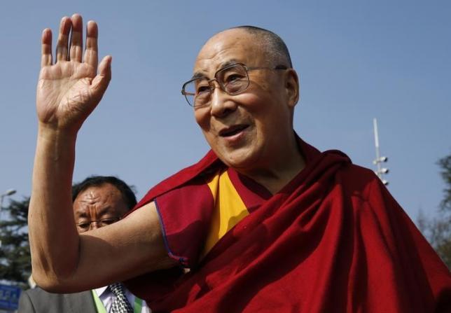 Prayers mark the Dalai Lama