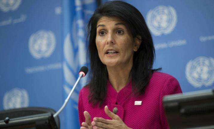 UN Security Council should step up pressure on Pakistan: Nikki Haley