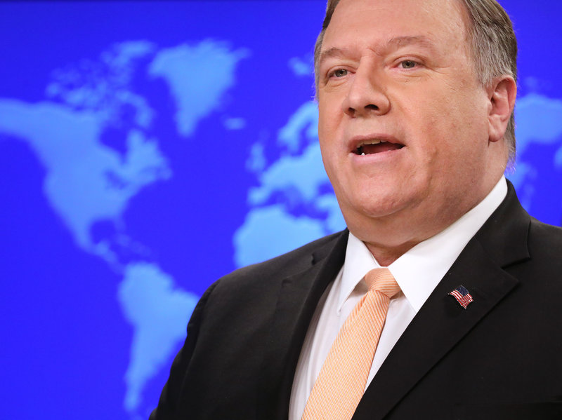 US considering range of options including military: Pompeo