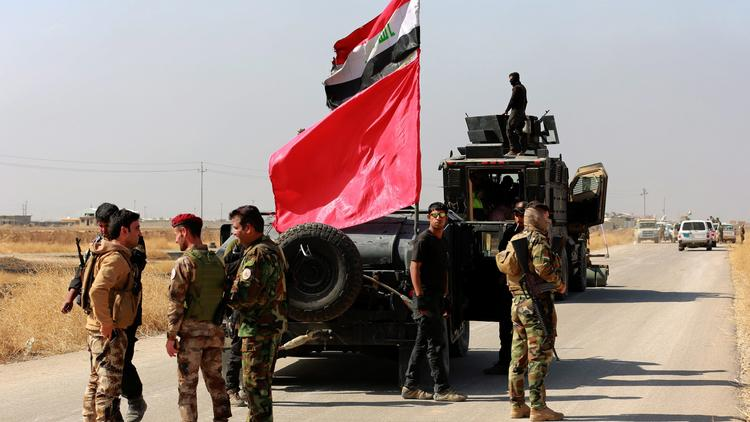 Iraqi special forces advances near Mosul from east
