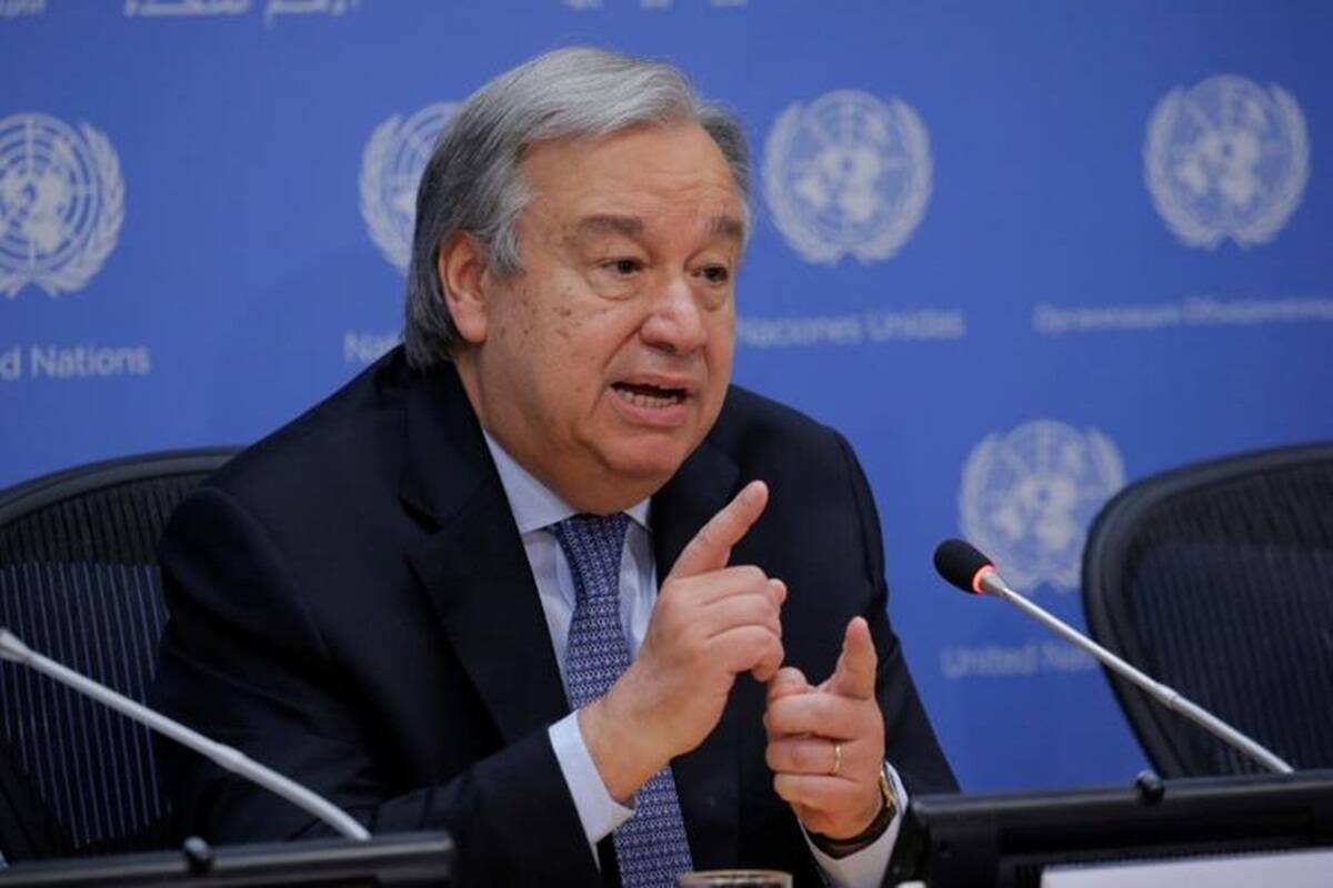UN chief welcomes positive steps announced by Biden administration on migration, refugees