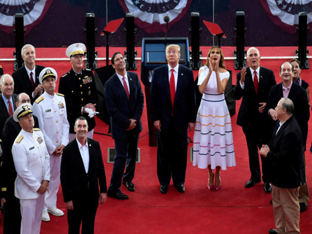 Trump celebrates US Independence Day with massive military parade