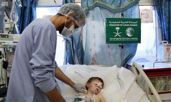 King Salman Humanitarian Aid provides medical assistance to 180,555 Syrian refugees in Jordan