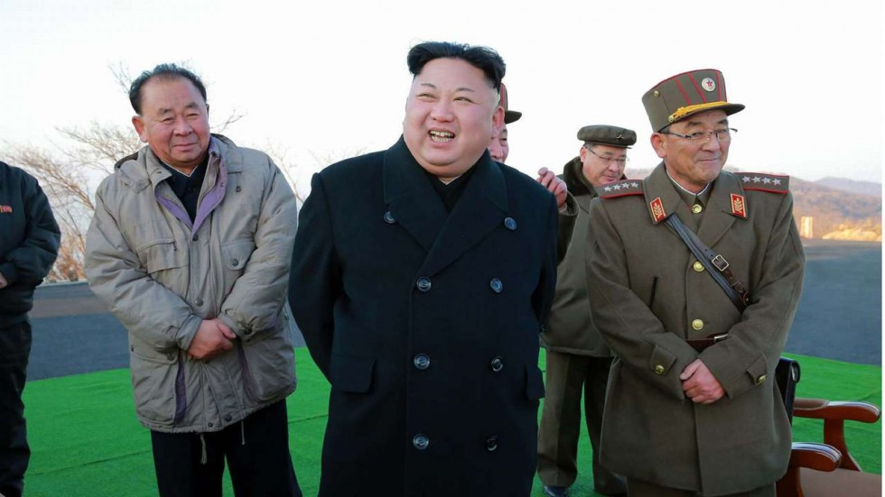 North Korea carries out missile test ahead of Xi-Trump summit
