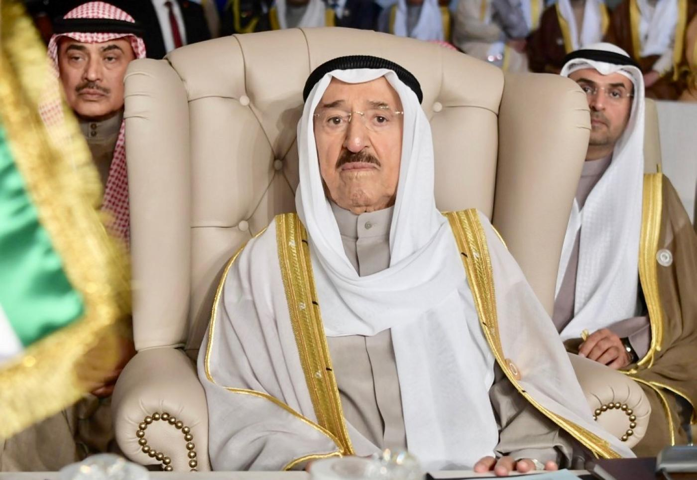 Kuwait ruler in US hospital for