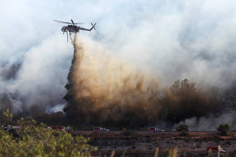96 houses destroyed in California wildfire