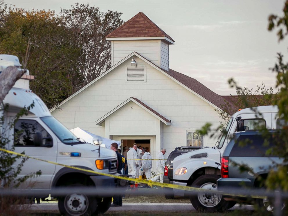 At least 26 killed in mass shooting at Texas Baptist Church