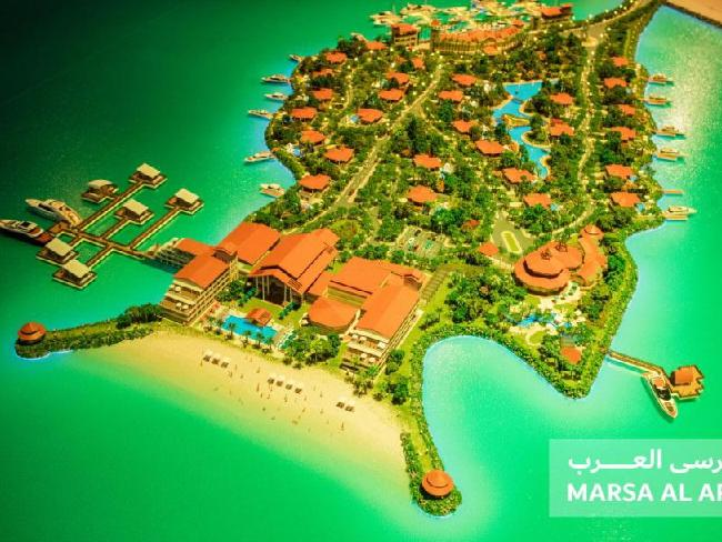 Dubai is building two new man-made islands worth $2.3 billion to attract families and rich tourists