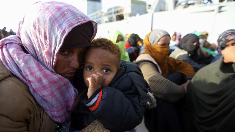 At least 11 migrants dead off Libya coast