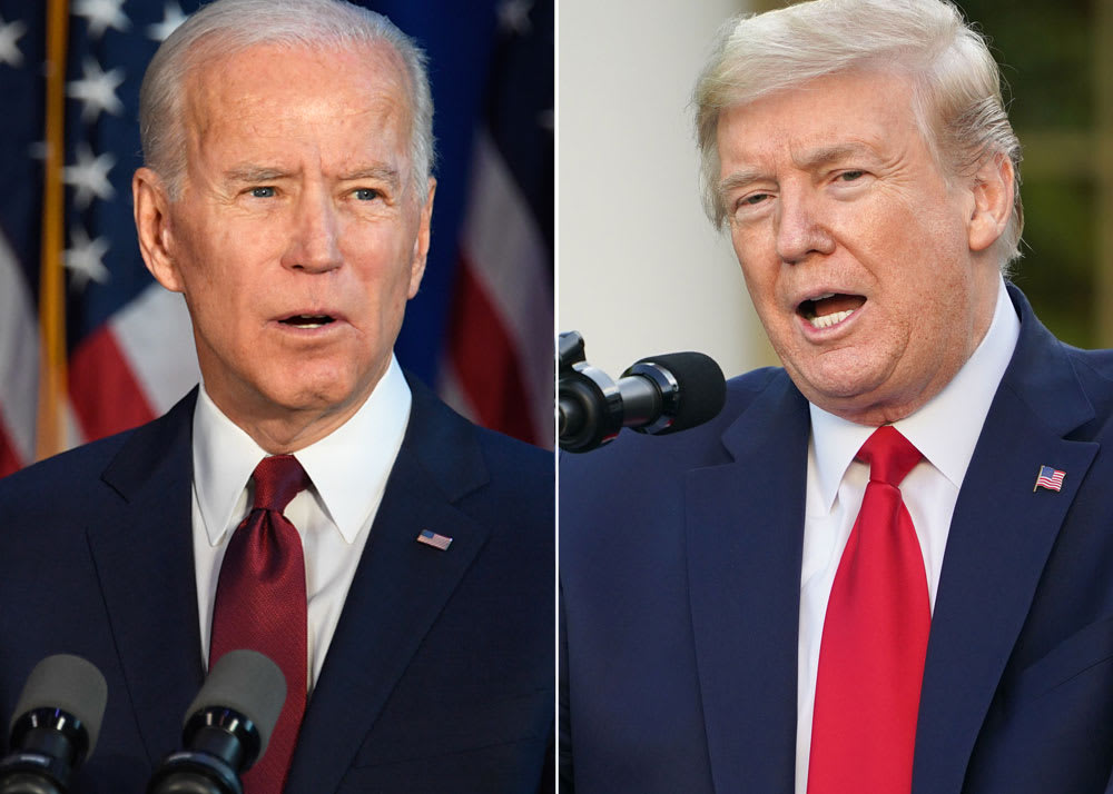 Trump, Biden clash on handling of coronavirus pandemic