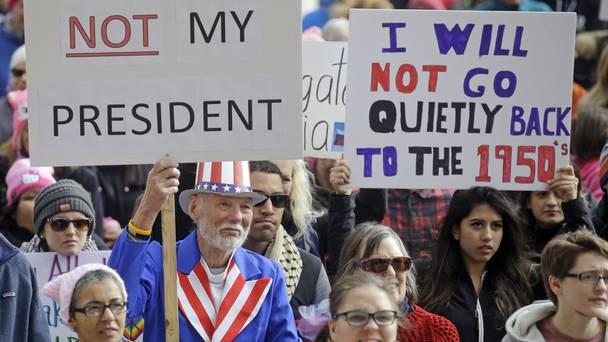notmypresidentsdayforthousandsofantitrumpprotesters