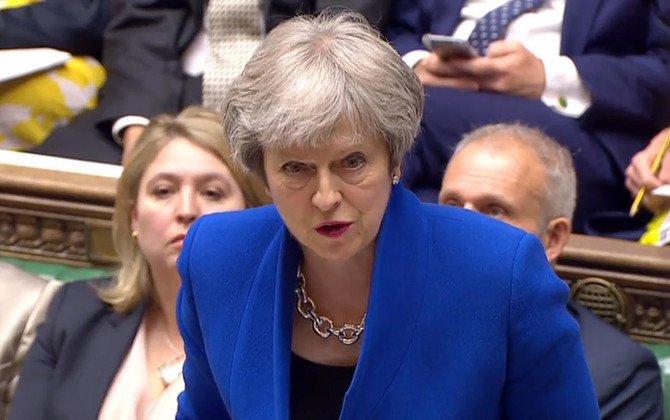 UK PM Theresa May calls US images of migrant children