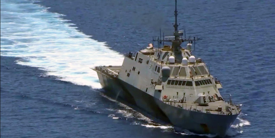 Beijing protests US warship operation in South China Sea