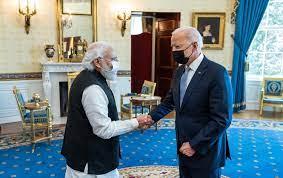 US President Joe Biden appreciates India
