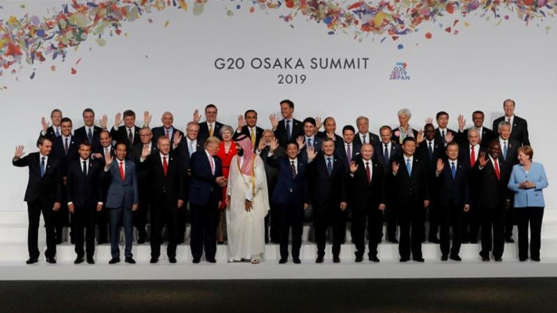 World leaders discuss economy, trade at G20 summit