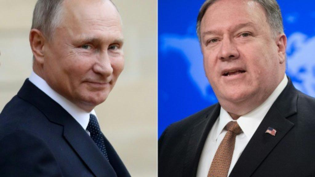 US,Russia test tense ties as Pompeo visits Putin