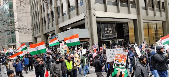 Anti-CAA protests by Indian Americans mar Republic Day celebrations in US