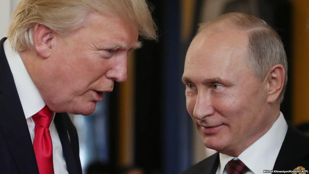 Trump congratulates Putin on his re-election