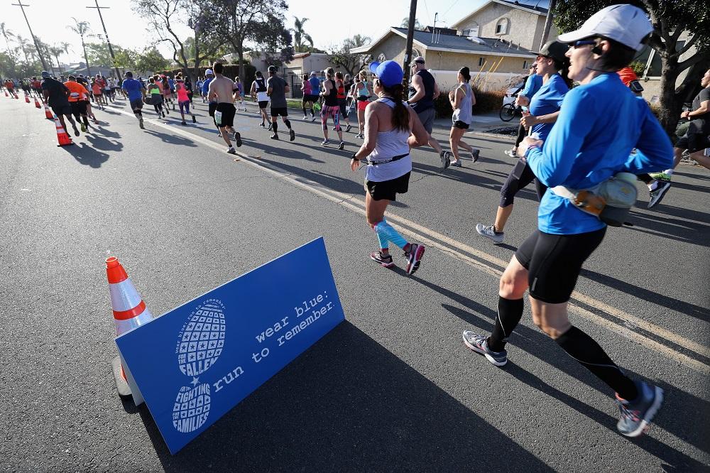 Shots fired near California marathon