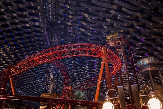 Dubai spent $1 Billion Building the largest indoor theme park on earch
