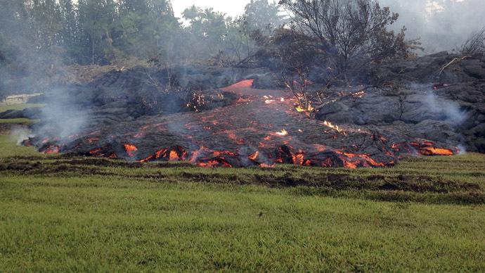 Kilauea volcano has erupted on Hawaii