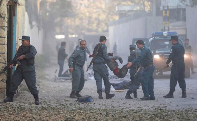 Blast hits Afghan capital Kabul, numerous casualties