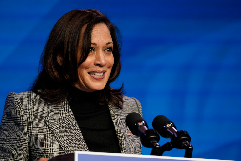 Kamala Harris resigns from Senate