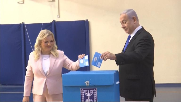 Israel votes on Netanyahu