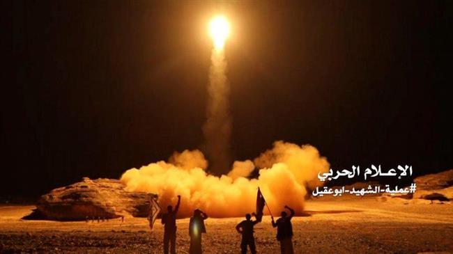 Yemeni ballistic missile destroys Saudi positions in Asir: TV