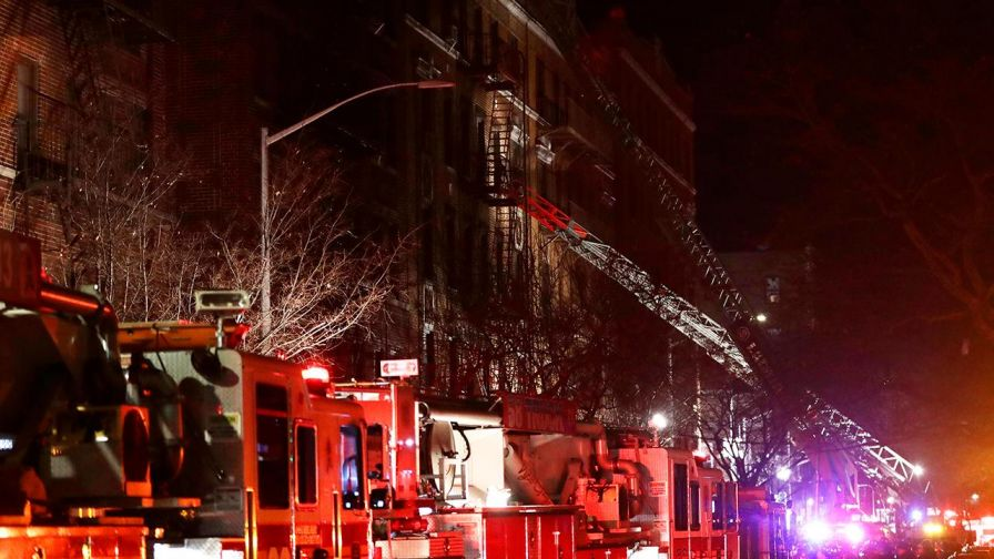 12 people killed in Bronx apartment fire in New York