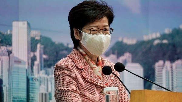 hongkongleaderdelayspolicyaddressuntilbeijingvisit