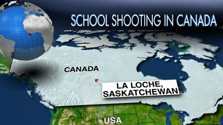 5 killed, two injured in Canada school shooting