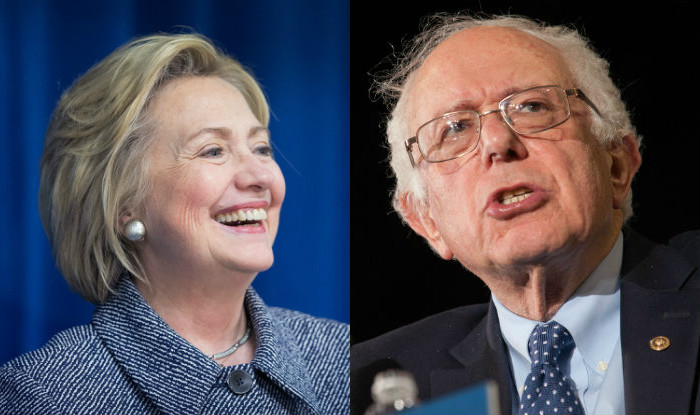 Hillary, Sanders share honours in Democratic primary battle