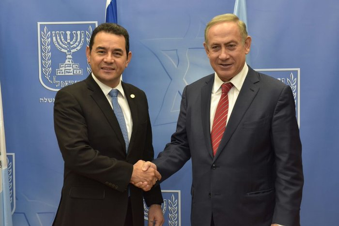 Guatemala moves its embassy to Jerusalem in Israel