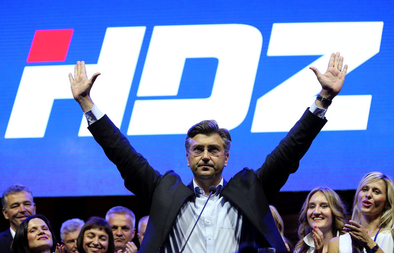Conservatives take lead in Parliamentary elections in Croatia