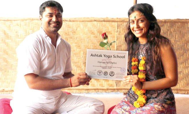 Yoga stretches its way into Saudi Arabia
