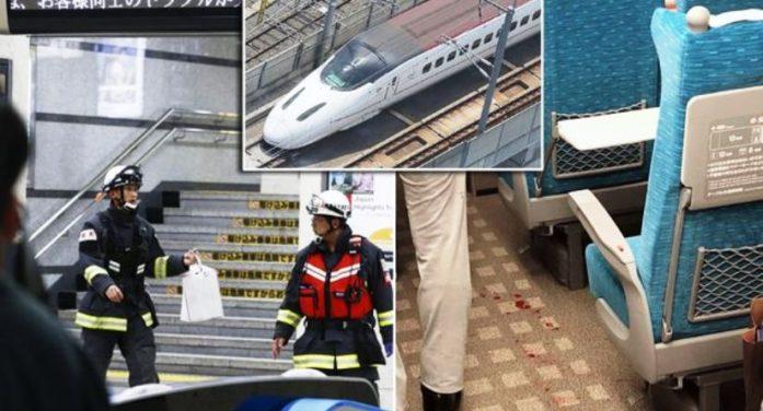 Knife rampage abroad bullet train kills 1 in Japan