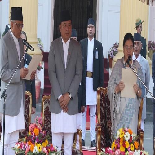 Bidhya Devi Bhandari sworn-in as Nepal