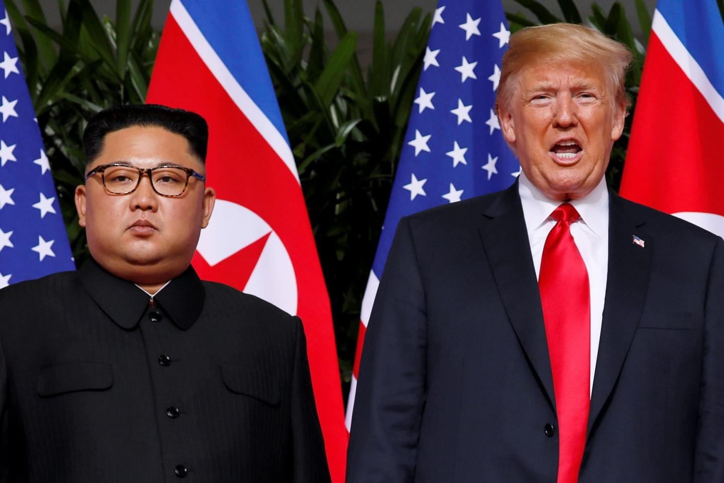 North Korea demands US ends hostility one year on from Singapore