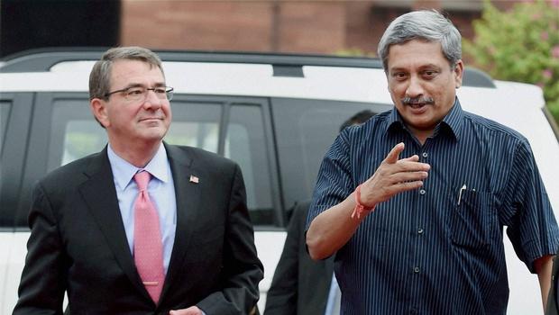 Carter, Parrikar to meet at Pentagon on Aug 29
