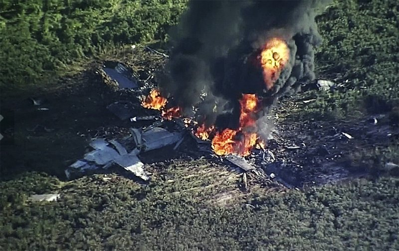 Propeller blade broke, causing military plane crash